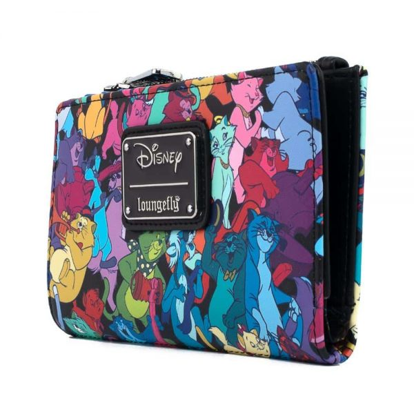 Loungefly Disney Aristocats Jazzy Cats Flap Wallet by Loungefly