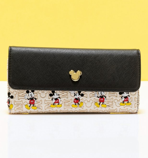 Loungefly Disney: Mickey Mouse Hardware Flap Wallet