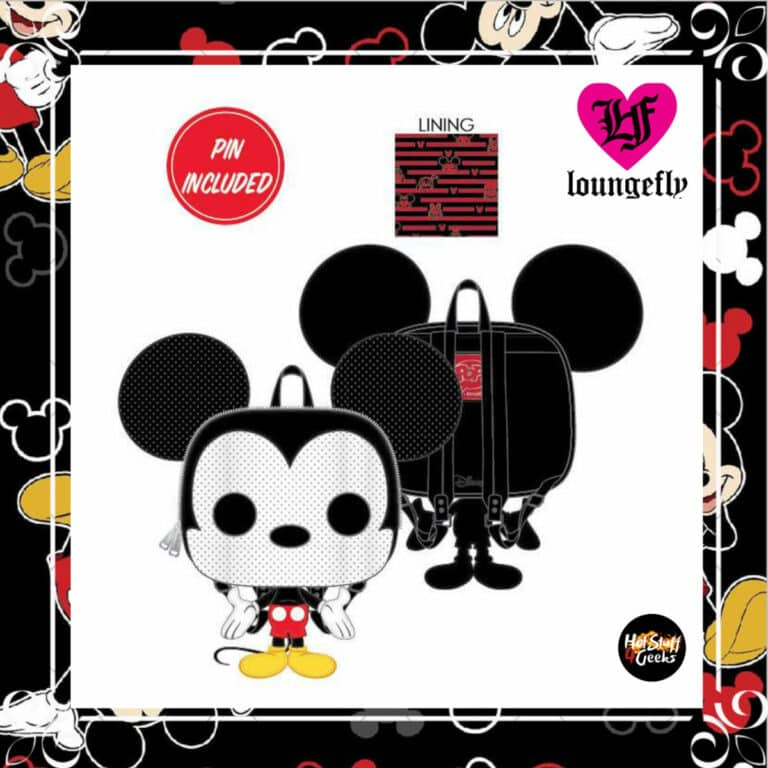 Loungefly Disney Mickey Mouse Pop! Loungefly Collector Backpack Enamel Pin by Loungefly