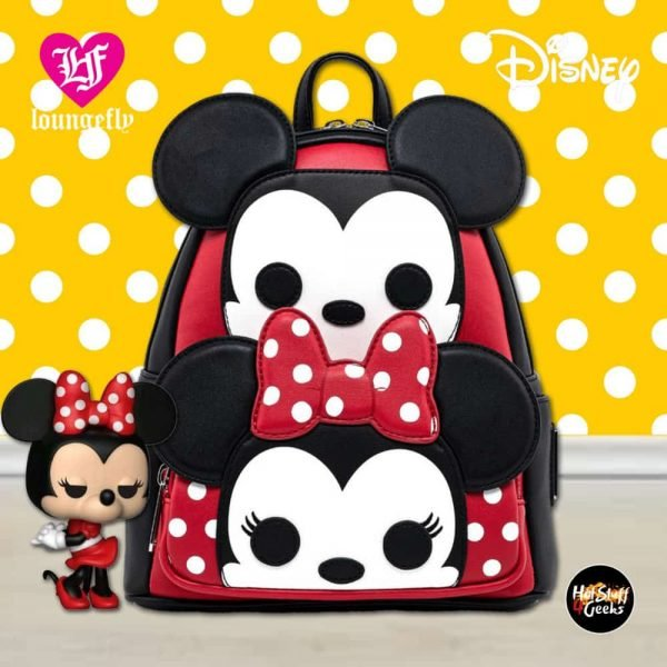 Loungefly Disney Mickey and Minnie Pop! by Loungefly Cosplay Mini-Backpack