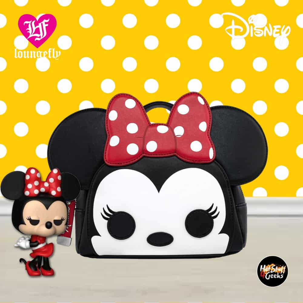 Loungefly Disney; Minnie Mouse Pop! by Loungefly Fanny Pack