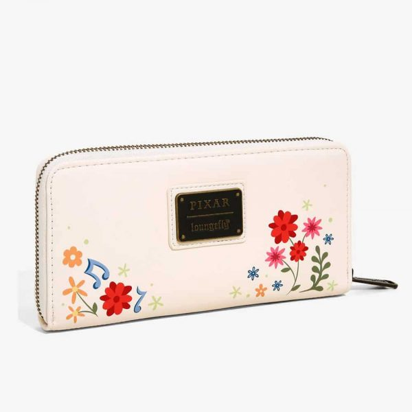 Loungefly Disney Pixar Coco Floral Wallet - BoxLunch Exclusive
