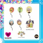 Loungefly Disney Pixar UP Balloon Blind Box Enamel Pin by Loungefly