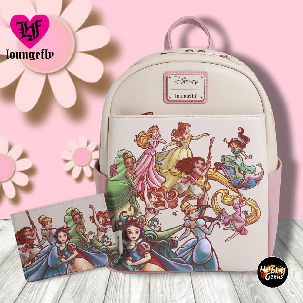 Loungefly Disney Princess Sketch Mini Backpack - BoxLunch Exclusive