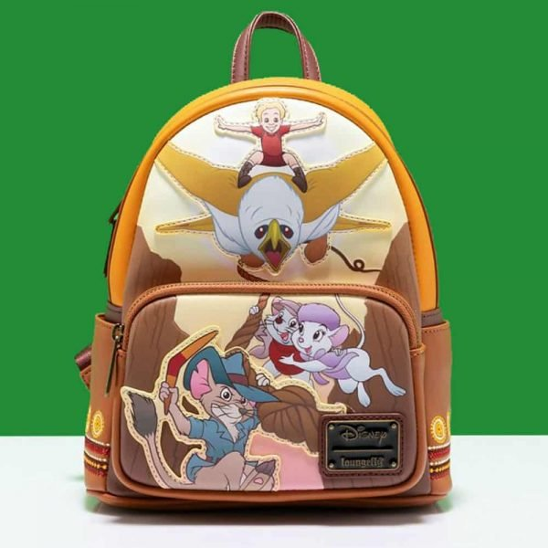 Loungefly Disney Rescuers Down Under Scene Mini Backpack