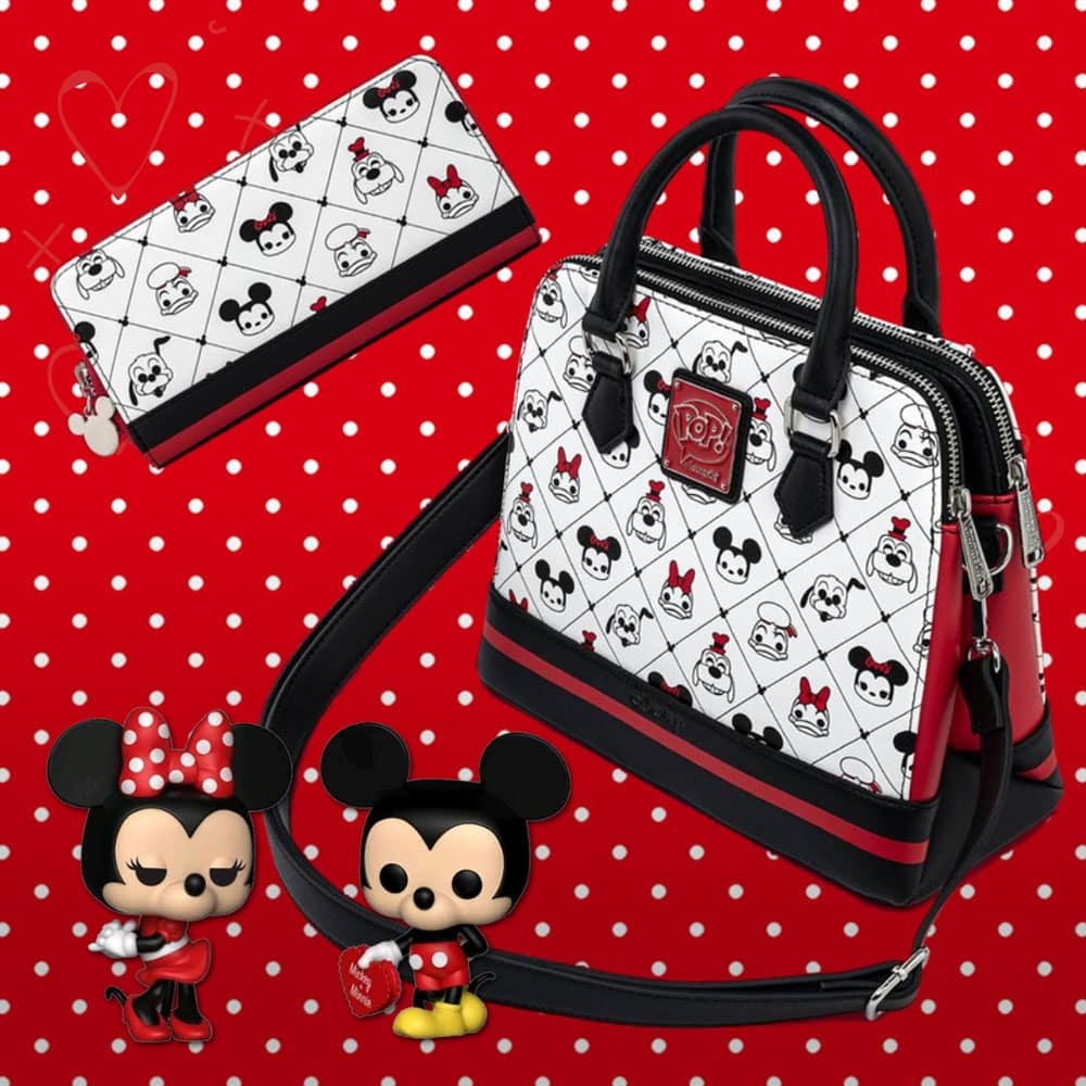 Loungefly Disney: Sensational 6 Pop! by Loungefly Crossbody Purse and Wallet
