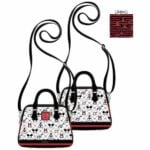 Loungefly Disney Sensational 6 Pop! by Loungefly Crossbody Purse by Loungefly