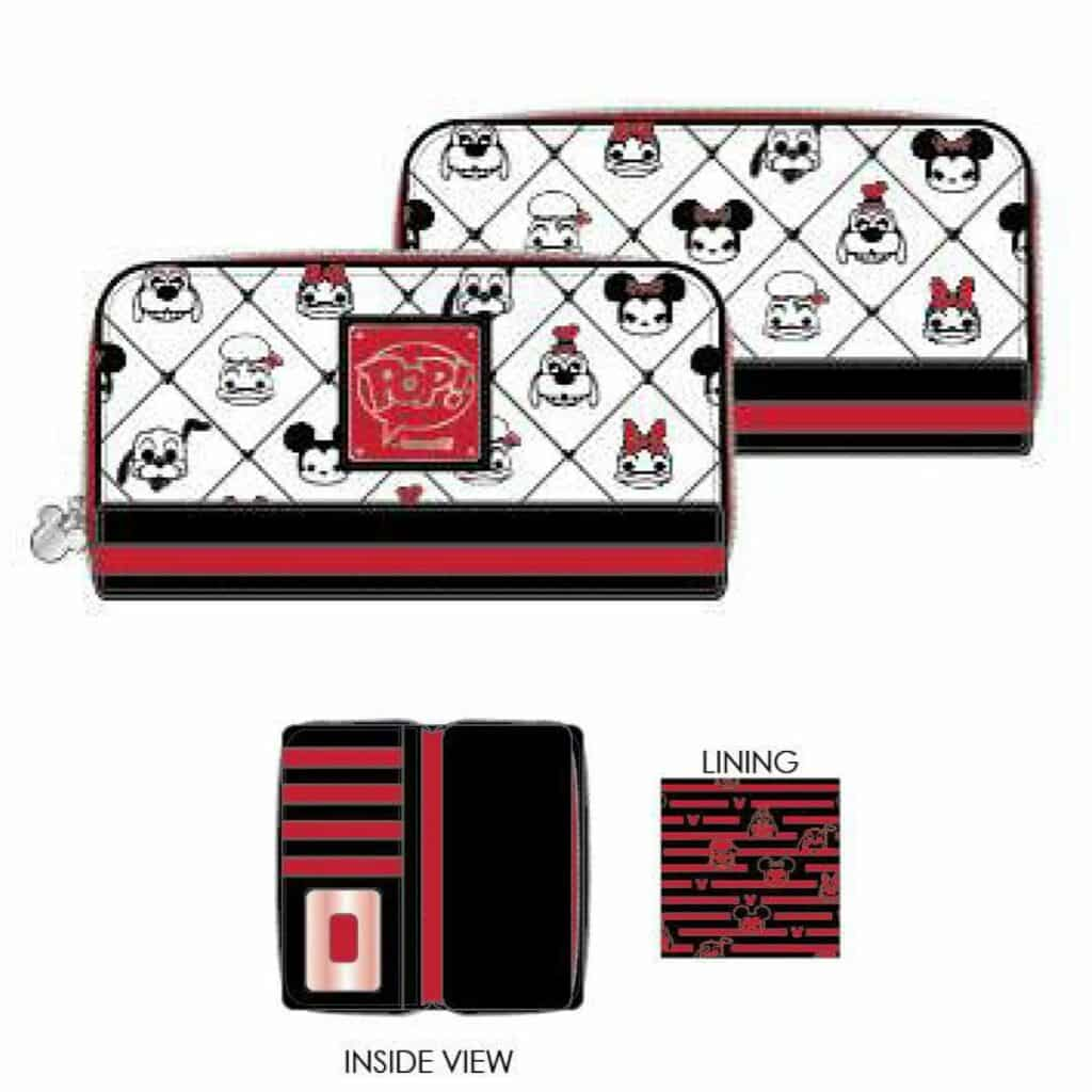 Loungefly Disney Sensational 6 Pop! by Loungefly Zip-Around Wallet by Loungefly