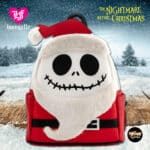 Loungefly Disney The Nightmare Before Christmas Santa Jack Cosplay Mini Backpack