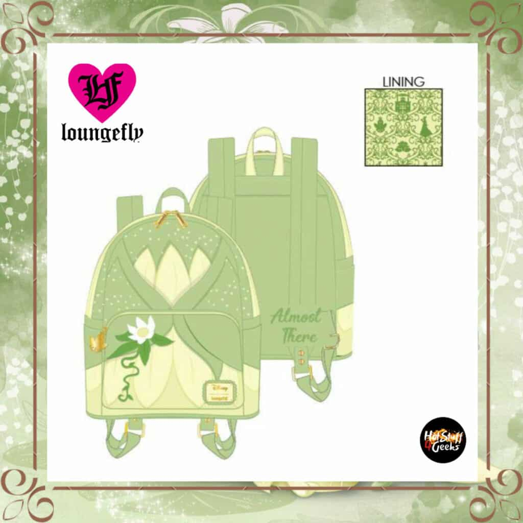 Loungefly Disney Tiana Cosplay Mini Backpack by Loungefly
