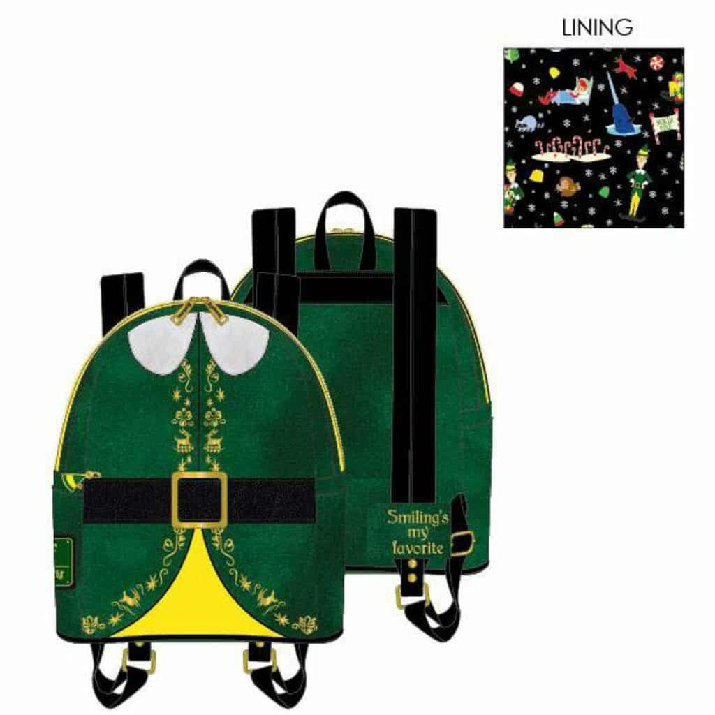 Loungefly Elf Buddy Cosplay Mini-Backpack by Loungefly