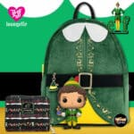 Loungefly Elf Buddy Cosplay Mini-Backpack and Wallet