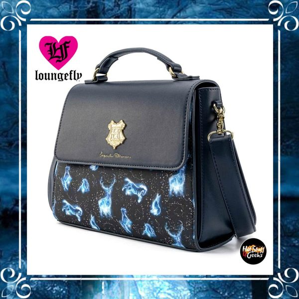 Loungefly Harry Potter: Expecto Patronus AOP Crossbody Bag by Loungefly