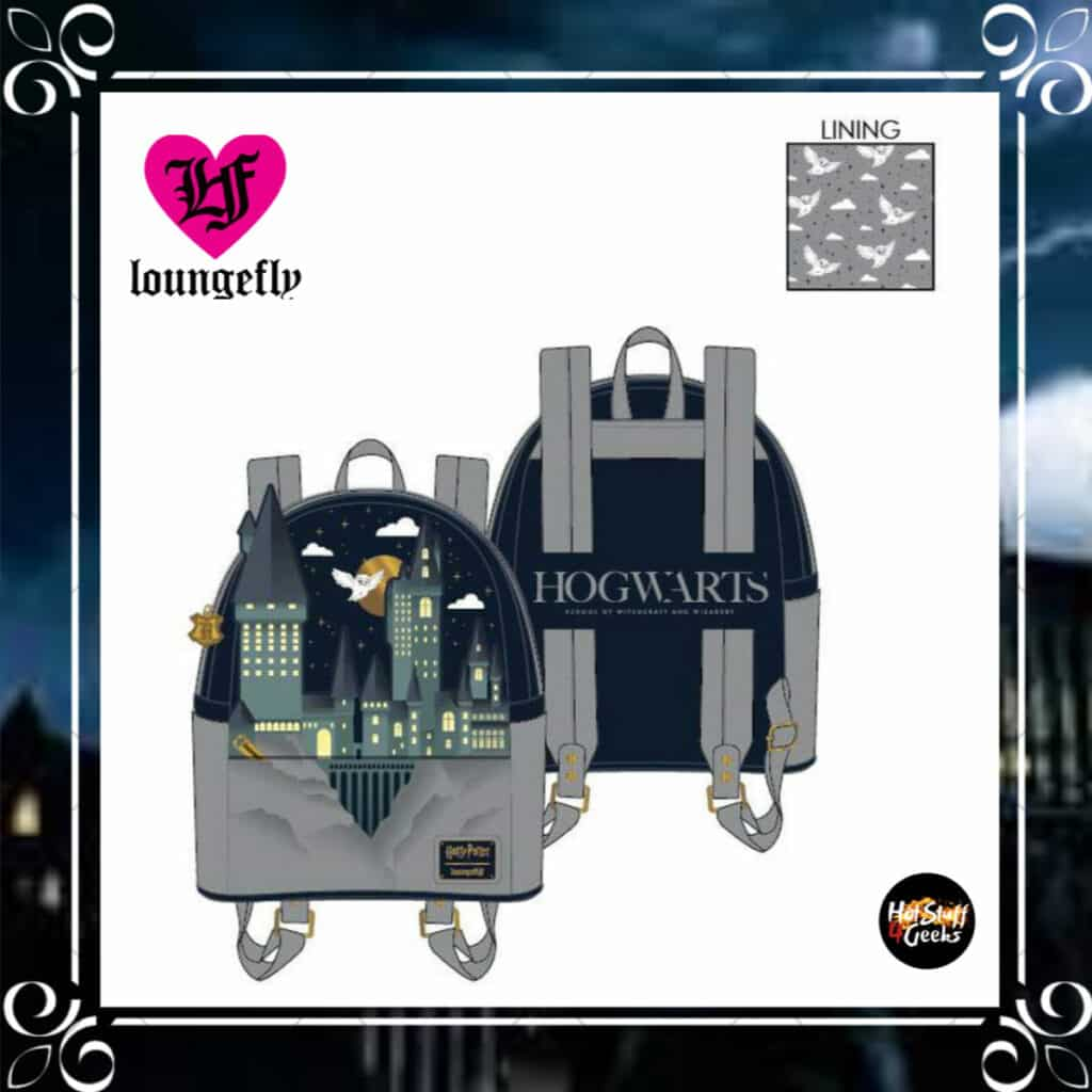 Loungefly Harry Potter Hogwarts Castle Mini-Backpack by Loungefly