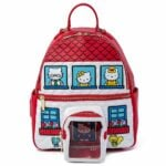 Loungefly Hello Kitty Convertible Backpack and Funko Pop! Hello Kitty Diamond Glitter Collection Bundle - Longefly NYCC 2020 Exclusive