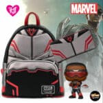 Loungefly Marvel Falcon Wallet and Backpack