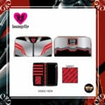 Loungefly Marvel Falcon Cosplay Zip-Around Wallet by Loungefly