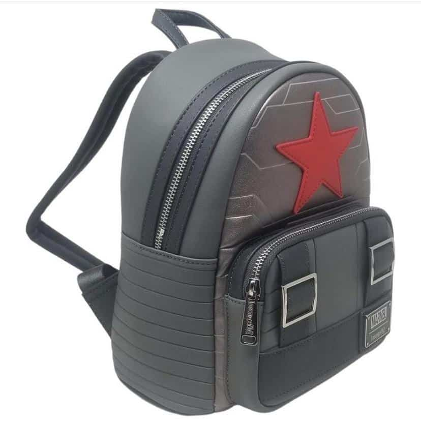 Loungefly Marvel Winter Soldier Cosplay Mini-Backpack