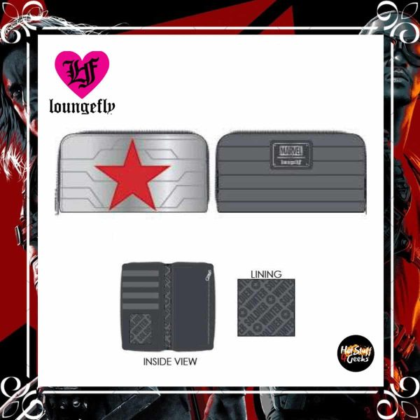 Loungefly Marvel Winter Soldier Cosplay Wallet by Loungefly