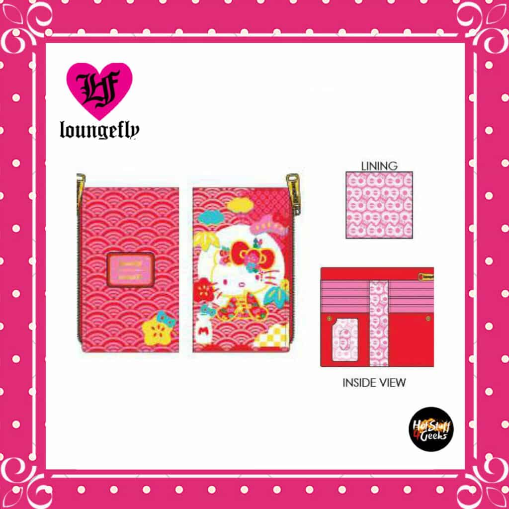 Loungefly Sanrio 60th Anniversary Flap Wallet by Loungefly