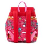 Loungefly Sanrio: 60th Anniversary Gold Bow Flap Backpack by Loungefly