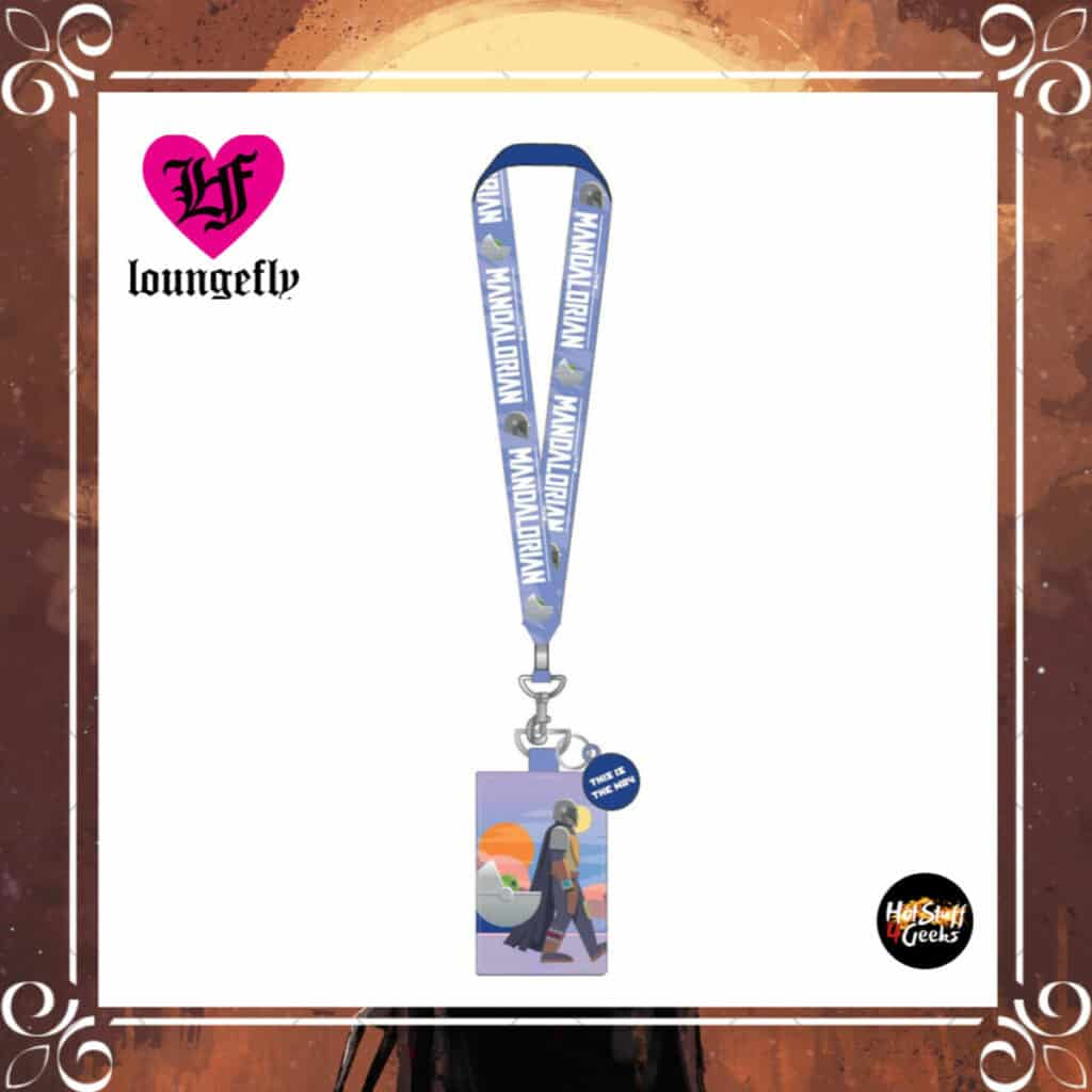 Loungefly Star Wars Mandalorian This is the Way Lanyard by Loungefly