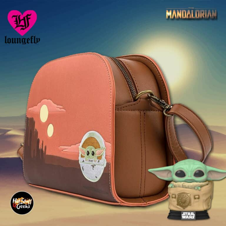 Loungefly Star Wars The Mandalorian The Child Cradle Crossbody Purse
