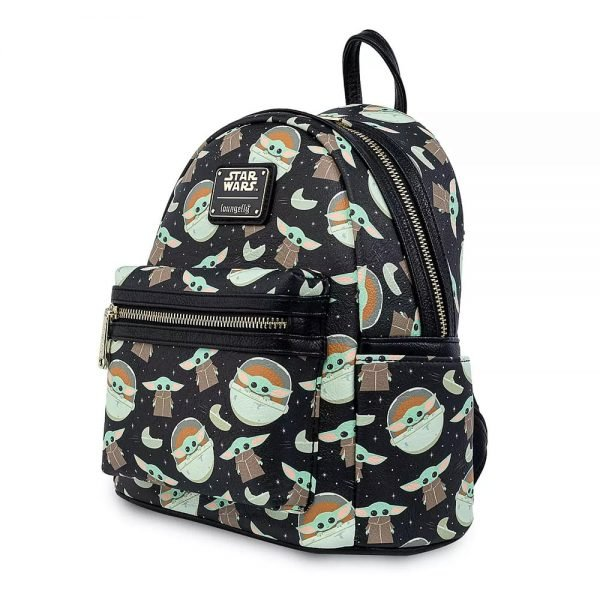 Loungefly Star Wars The Mandalorian: The Child Mini Backpack - Disney Shop Exclusive