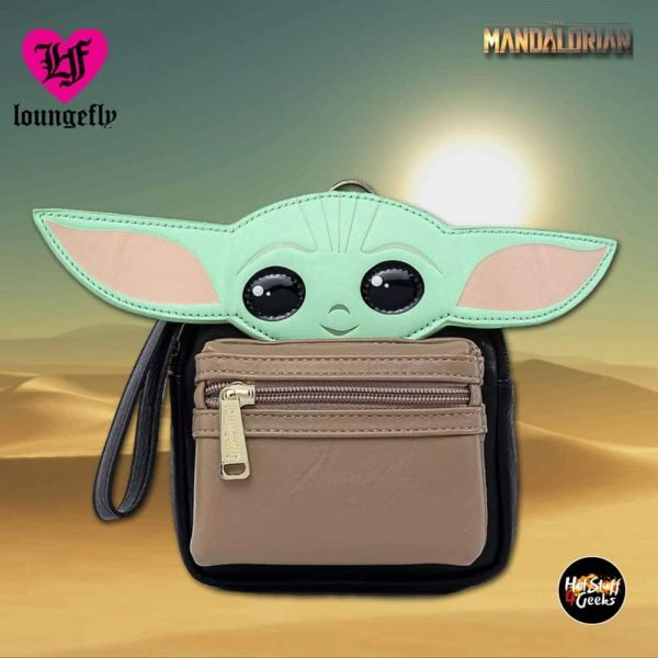 Loungefly Star Wars The Mandalorian:  The Child Wristlet - Disney Shop Exclusive