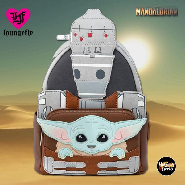 Loungefly Star Wars The Mandalorian: The Child and IG-11 Cosplay Mini Backpack - Fall Convention Exclusive