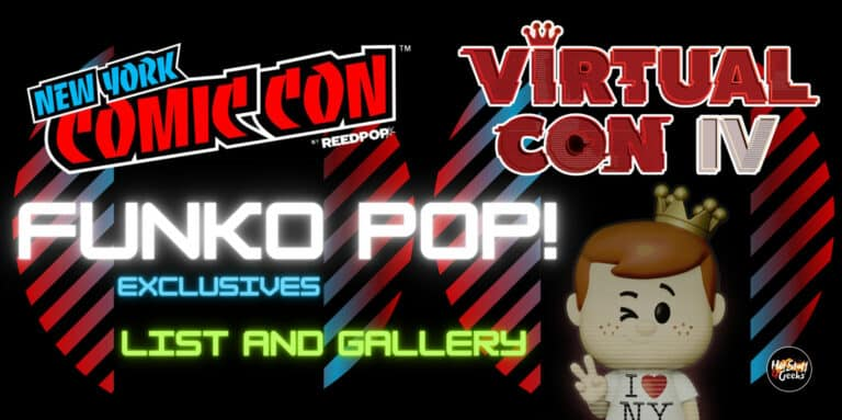 NEW NYCC 2020! Funko Exclusives List and Gallery