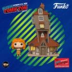 Funko Pop! Town: Harry Potter - The Burrow and Molly Weasley Funko Pop! Vinyl Figure - Funko Shop and NYCC 2020 Shared Exclusive Exclusive