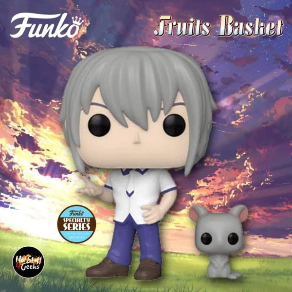 Funko Funko Pop! Animation: Fruits Basket - Yuki Sohma With Rat Pop! Vinyl Figure