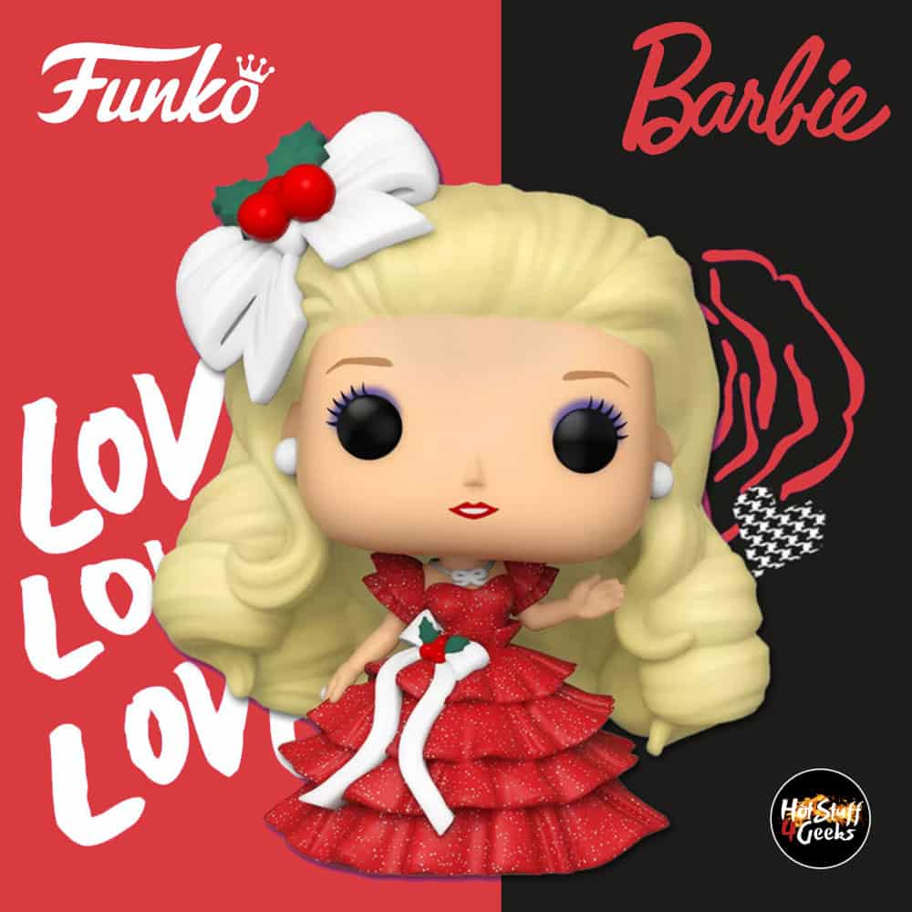 Funko POP! Retro Toys: Barbie - Original Holiday Barbie Funko Pop! Vinyl Figure - Target Exclusive