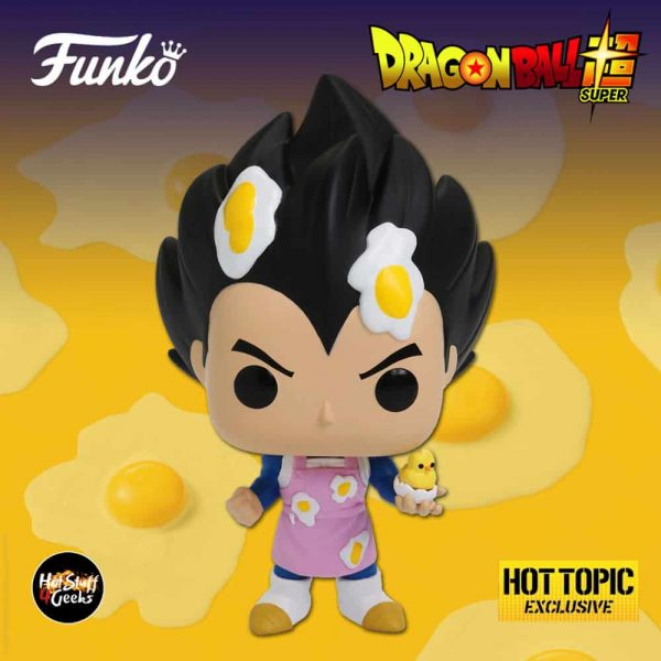 Funko Pop! Animation: Dragon Ball Super - Vegeta Cooking With Apron Funko Pop! Vinyl Figure - Hot Topic Exclusive