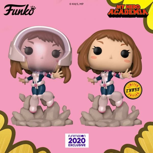 Funko Pop! Animation: My Hero Academia - Ochaco (Masked) with Chase Variant Funko Pop! Vinyl Figure - Funimation Exclusive