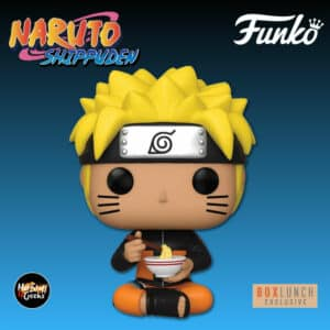 Funko Pop! Animation: Naruto Shippuden Naruto Uzumaki Eating Ramen Funko Pop! Vinyl Figure - BoxLunch Exclusive
