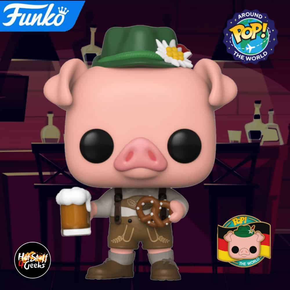 Funko Pop! Around the World: Hamsel from Germany Funko Pop Vinyl Figure – Funko Shop Exclusive