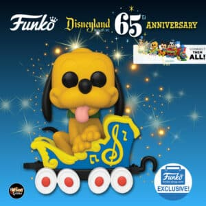 Funko Pop! Disney Disneyland Resort 65th Anniversary - Pluto on the Casey Jr. Circus Train Attraction