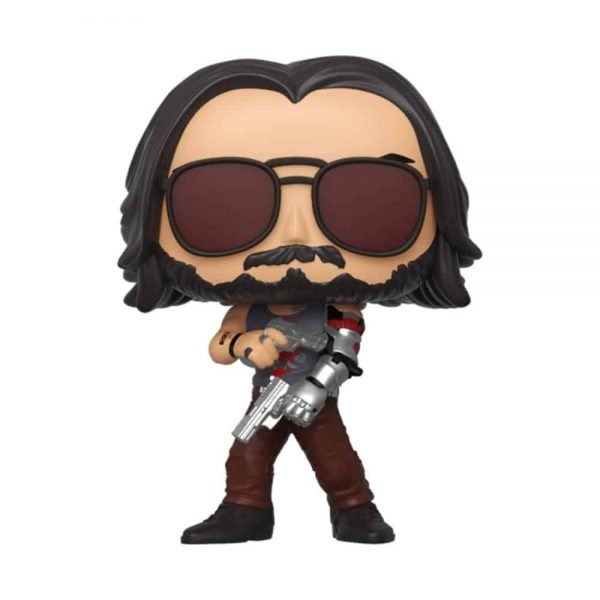 Funko Pop! Games: Cyberpunk 2077 - Johnny Silverhand Glow-In-The-Dark (GITD) Funko Pop! Vinyl Figure - Alliance Entertainment Exclusive