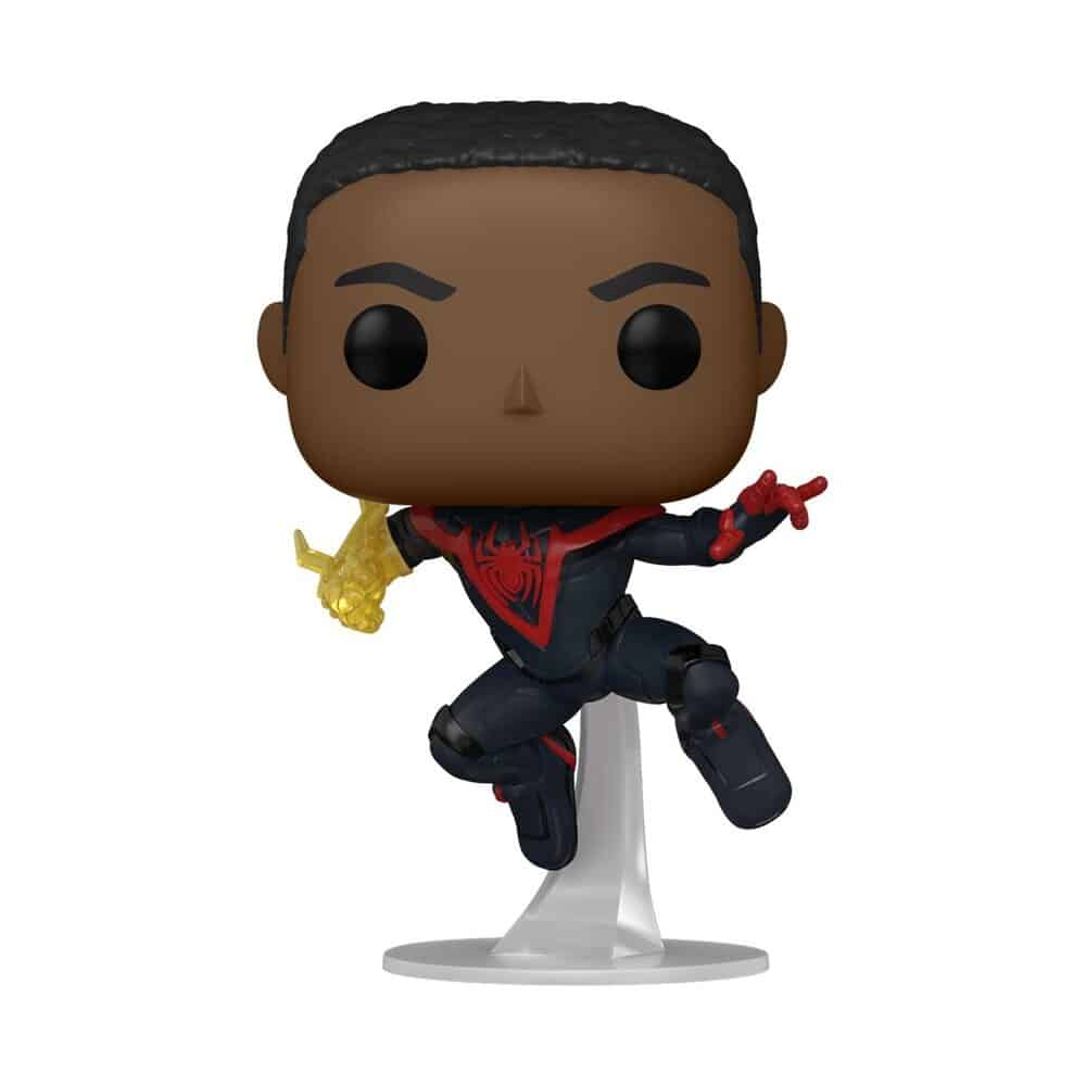 Funko Pop! Spider-Man Miles Morales Game - Miles Morales Classic Suit With Chase Variant Funko Pop! Vinyl Figure