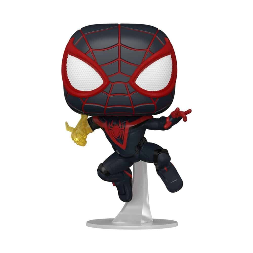 Funko Pop! Games: Marvel Spider-Man - Miles Morales Classic Suit With Chase Funko Pop! Vinyl Figure