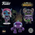 Funko Pop! Games: World of Warcraft (WOW) - Purple Murloc, Illidan, and Lady Sylvanas Funko Pop! Vinyl Figures - Blizzard Exclusive