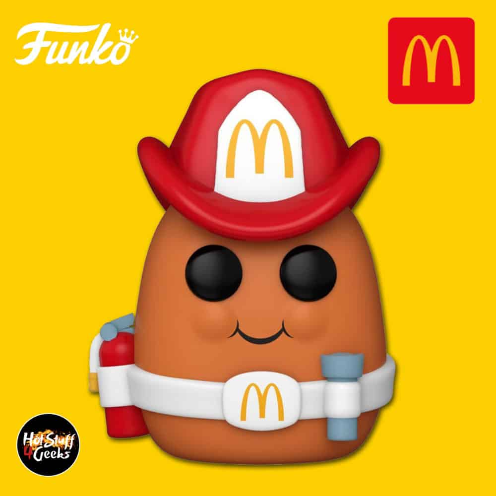 Funko Pop! Icons McDonald's -Fireman Nugget Funko Pop! Vinyl Figure