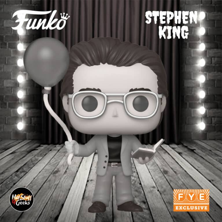 Funko Pop! Icons: Stephen King With Balloon Black & White Funko Pop! Vinyl Figure - Fye Exclusive