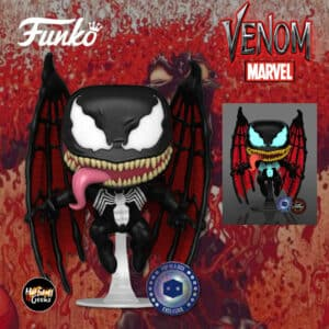 Funko Pop! Marvel Venom: Winged Venom With Glow-In-The-Dark (GITD) Chase Variant Funko Pop! Vinyl Figure - Pop-In-A-Box (PIAB) Exclusive