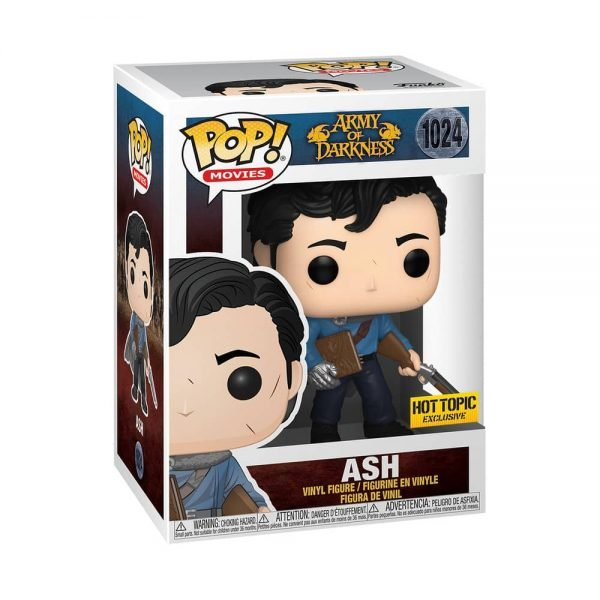Funko Pop! Movies: Army of Darkness - Ash Funko Pop! Vinyl Figure - Hot Topic Exclusive