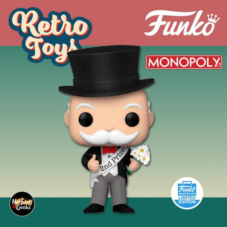 Funko Pop! Retro Toys: Monopoly: Mr. Monopoly Beauty Contest Funko Pop! Vinyl Figure - Funko Shop Exclusive