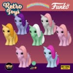 Funko Pop! Retro Toys: My Little Pony - Blossom, Minty Shamrock, Cotton Candy, Snuzzle, Butterscotch, Blue Belle (Hot Topic Exclusive) and Cotton Candy Scented (GameStop Exclusive) Funko Pop! Vinyl Figures