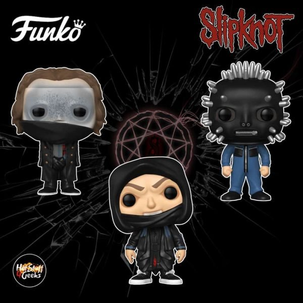 Funko Pop! Rocks: Slipknot - Corey Taylor, Craig Jones, and Sid Wilson Funko Pop! Vinyl Figures